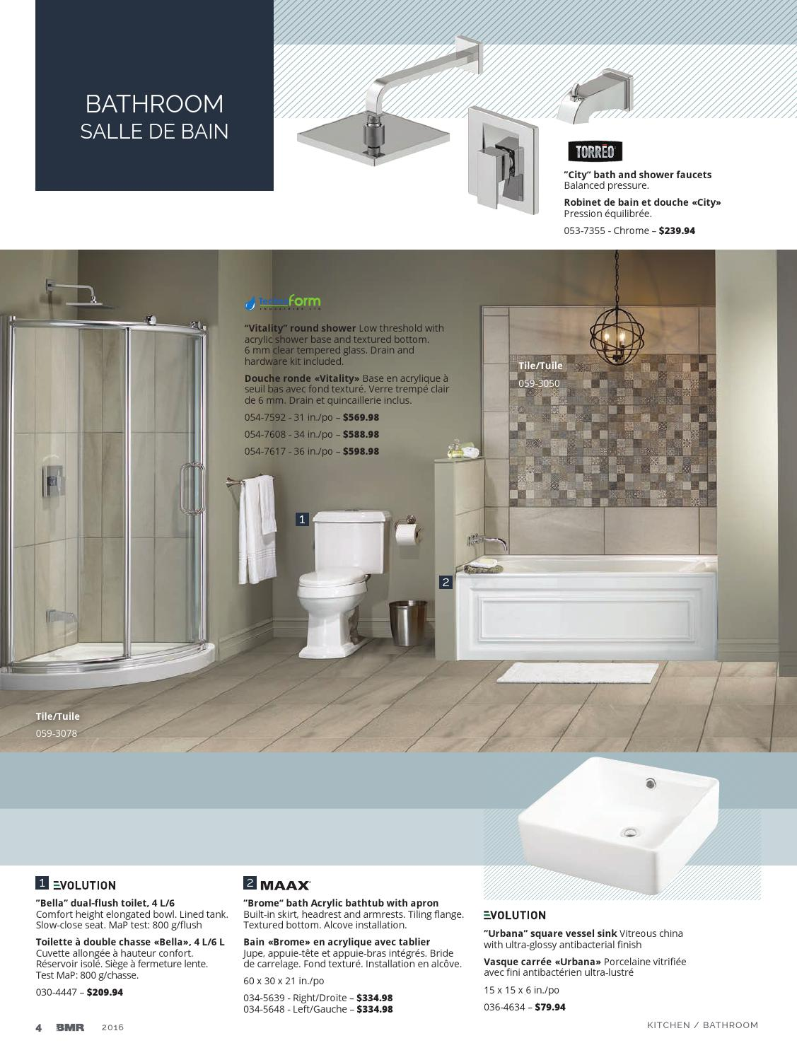 Bathroom Salle De Bain kitchen and bathroom 2016groupe bmr - issuu