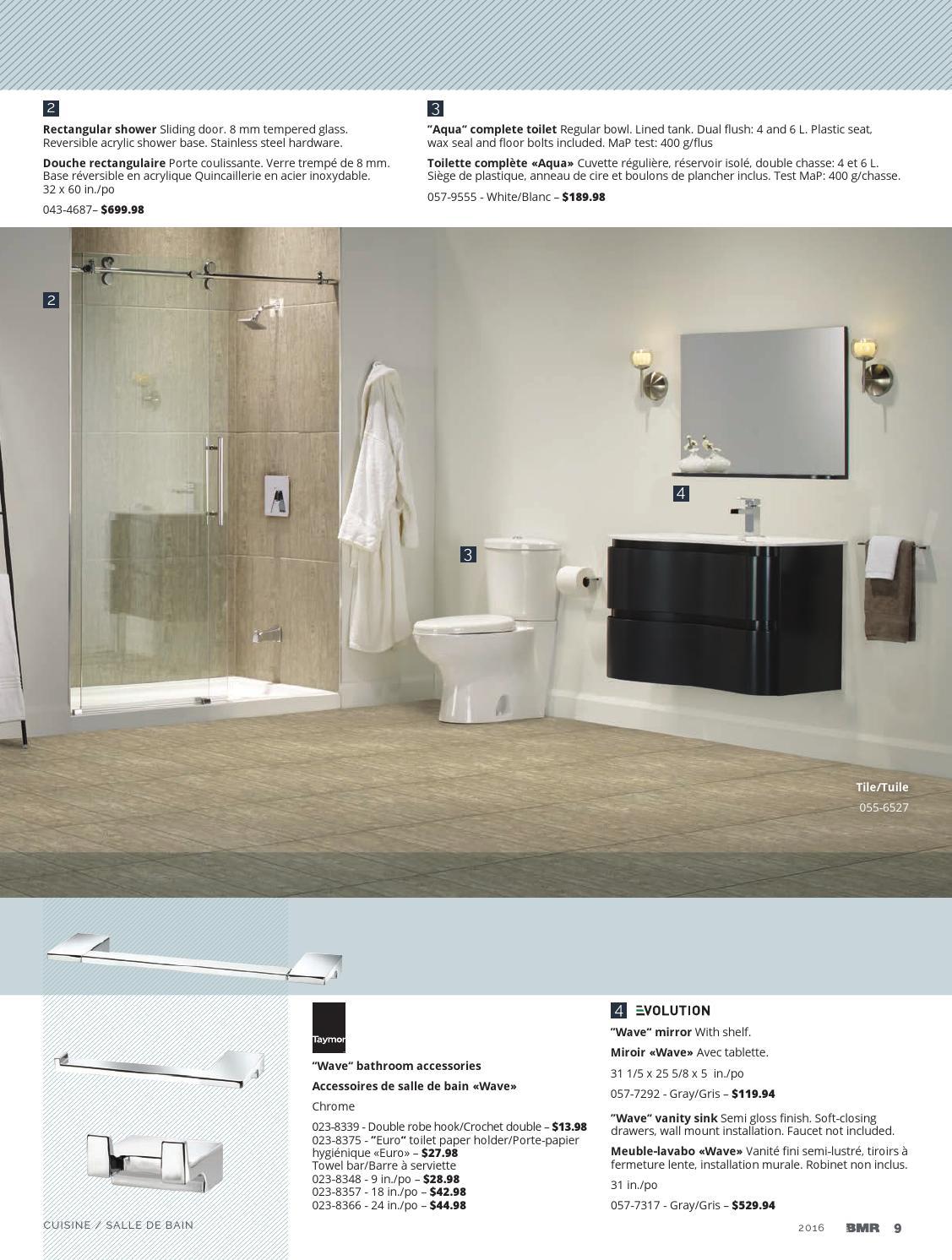 Toilette Gris Et Blanc kitchen and bathroom 2016groupe bmr - issuu