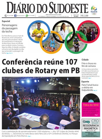 87bd84b0c3 Diário do sudoeste 21 e 22 de maio de 2016 ed 6639 by Diário do ...