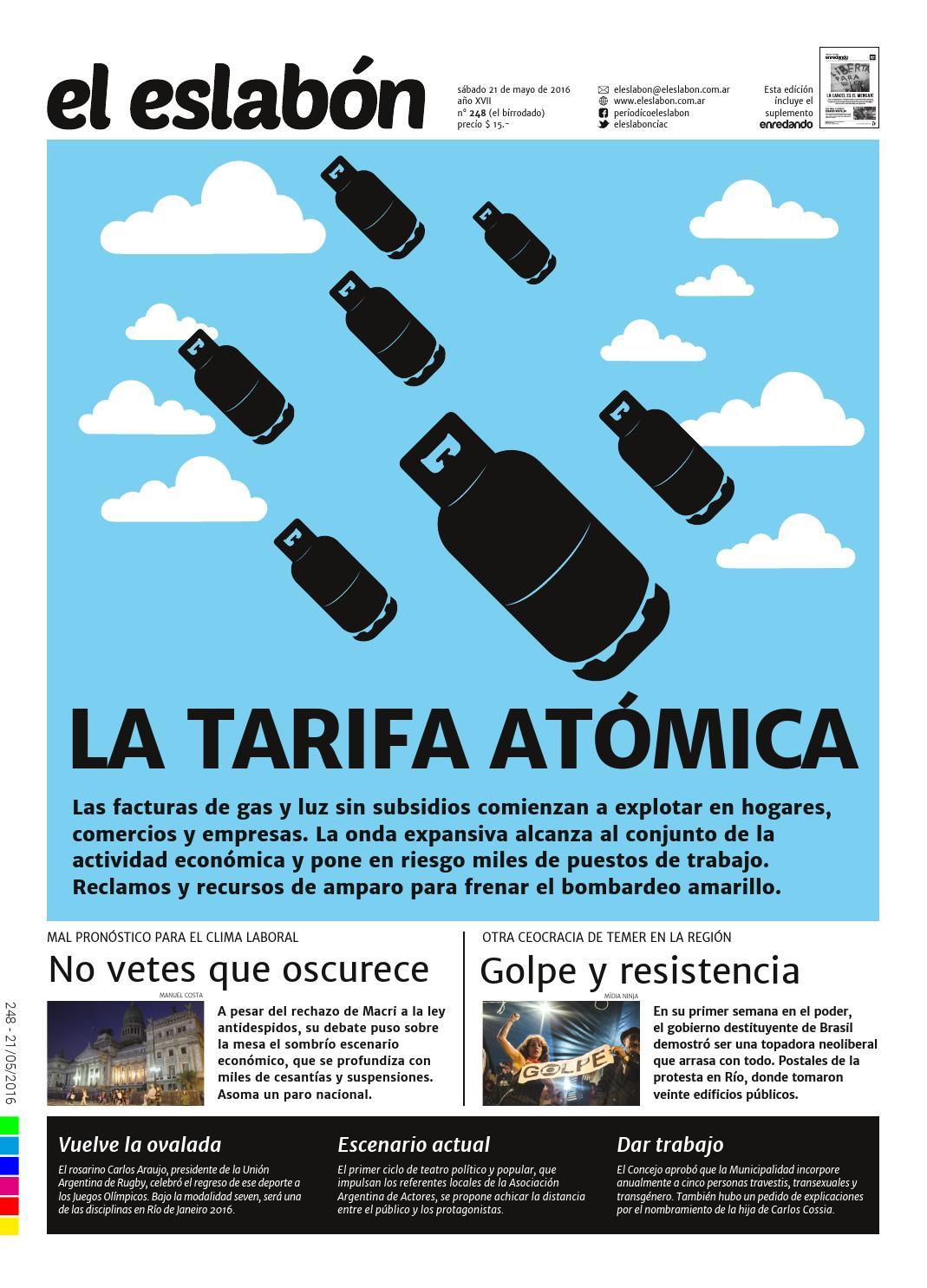 91b8a1a612 el eslabón 248 by El Eslabón de la Cadena Informativa - issuu