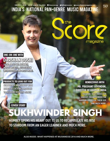 9d43327ed5f The Score Magazine May 2016 Issue by The Score Magazine - issuu