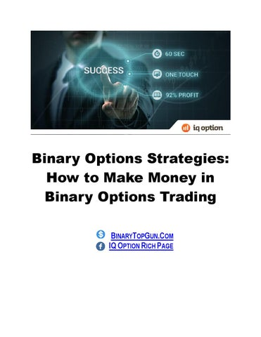 Strategies for binary options trading