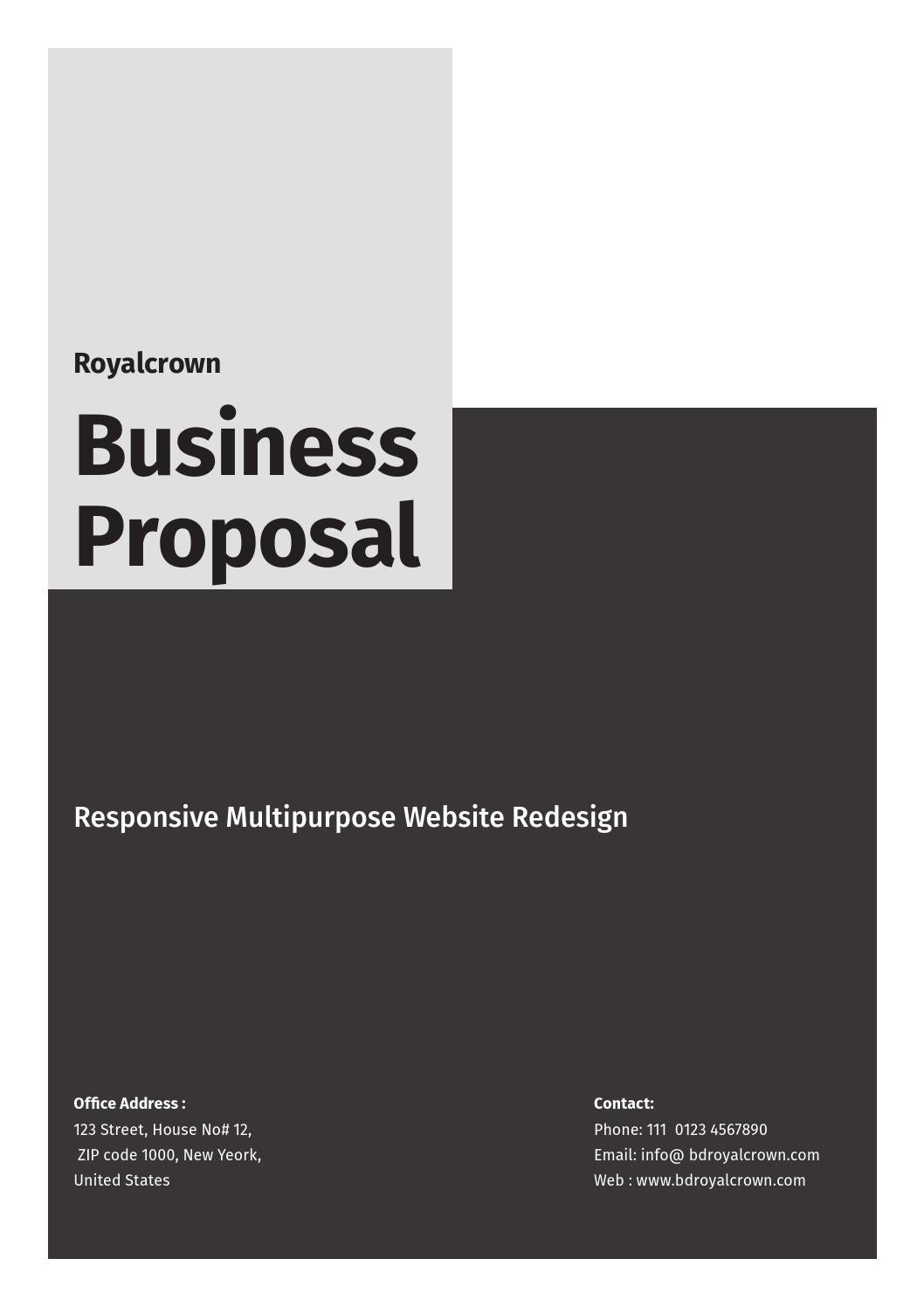 Art & Design Proposal by royalcrown - issuu