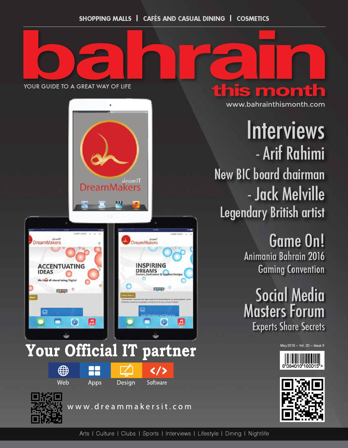 7f4a2d64704a Bahrain This Month - May 2016 by Red House Marketing - issuu