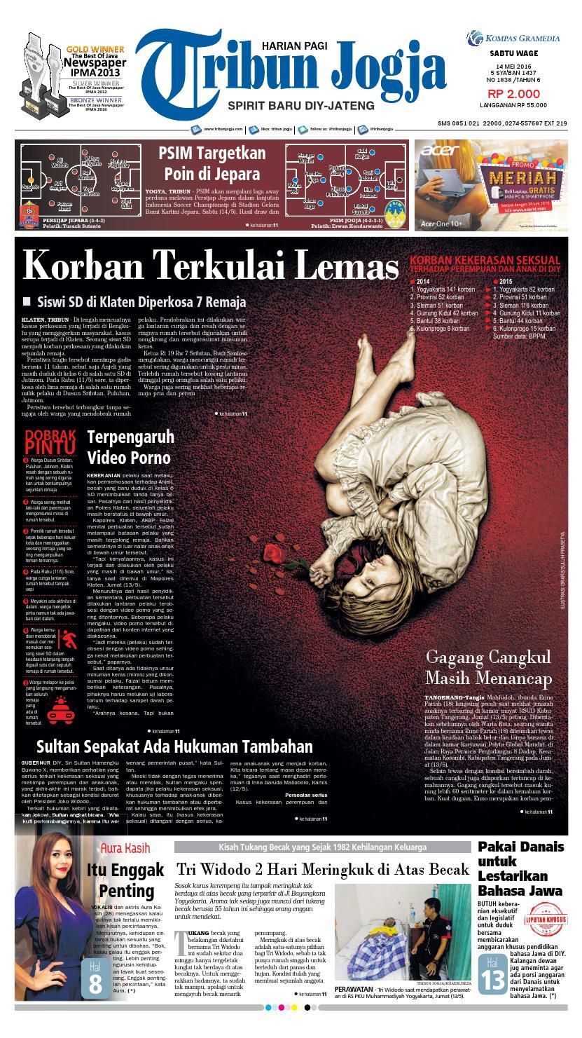 Tribunjogja 14 05 2016 By Tribun Jogja Issuu Produk Ukm Bumn Jamu Kunyit Asam Seger Waras