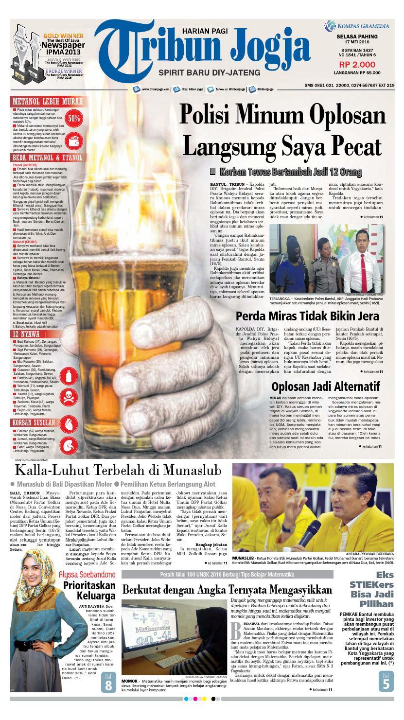 Tribunjogja 17 05 2016 By Tribun Jogja Issuu Sambal Cowek 27 Neng Uud Kitchen