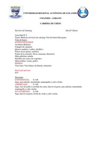 Actividad 5 diagrama de flujo y ejemplos de menus vino de honor page 1 ccuart Gallery