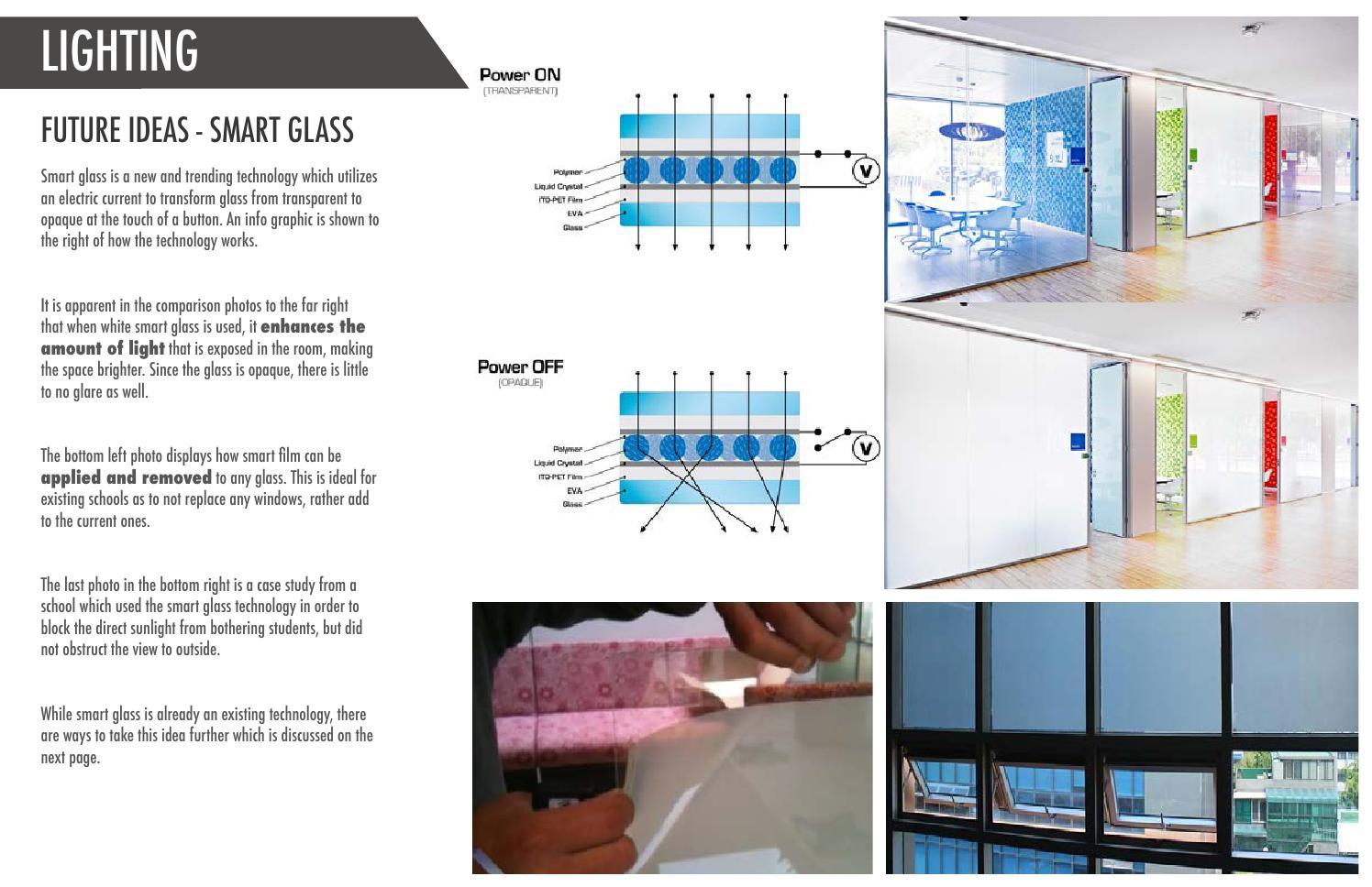 Futuristic Lighting Design In School Environments By Elena