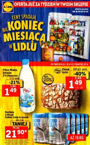 Lidl Gazetka Od 3005 Do 05062016 By Iulotkapl Issuu