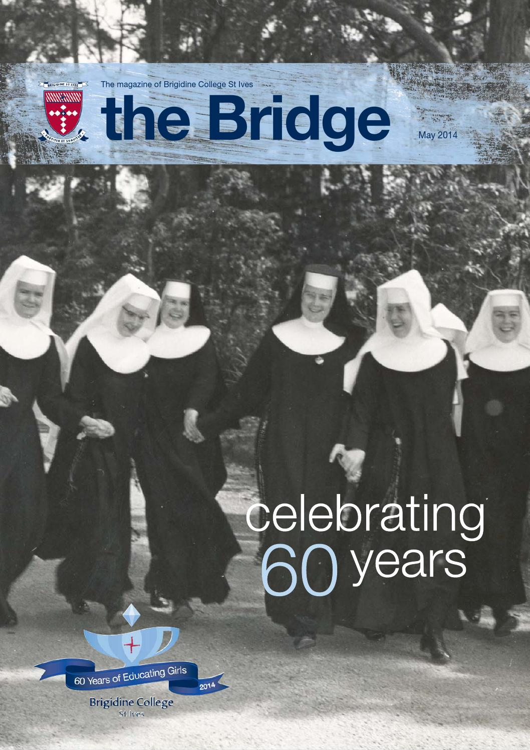 The bridge issue 1 2014 by brigidine college st ives issuu fandeluxe Images