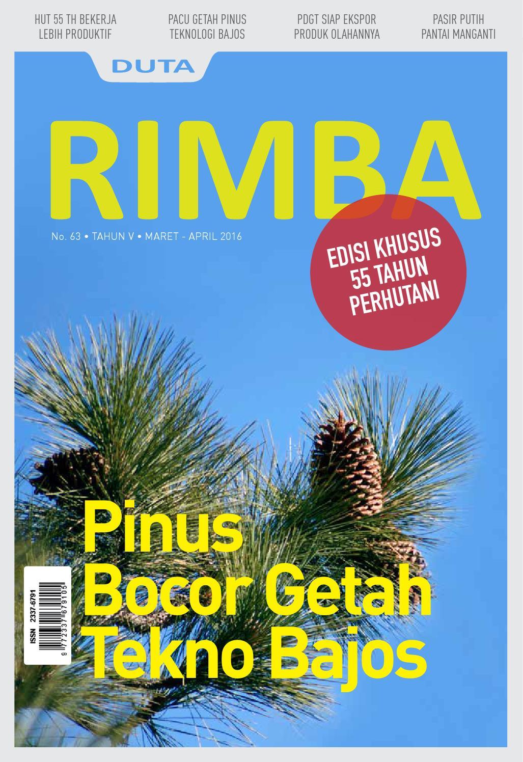 Duta Rimba Edisi 63 Maret April 2016 By Perhutani Issuu Produk Ukm Bumn Sambal Legenda