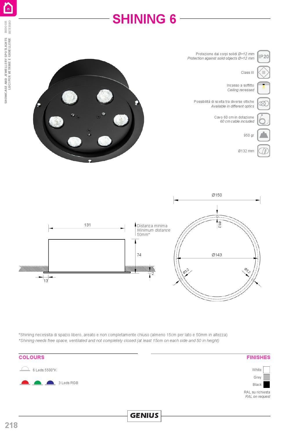 Altezza Minima Soffitto genius led indoor by placed - issuu