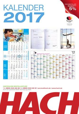 HACH Kalender 2017 by HACH KG - issuu