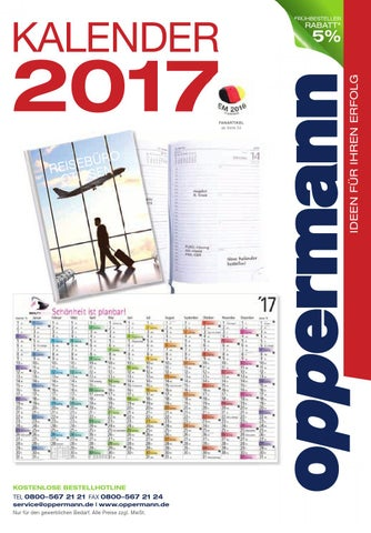 Oppermann Kalender 2017 by HACH KG - issuu