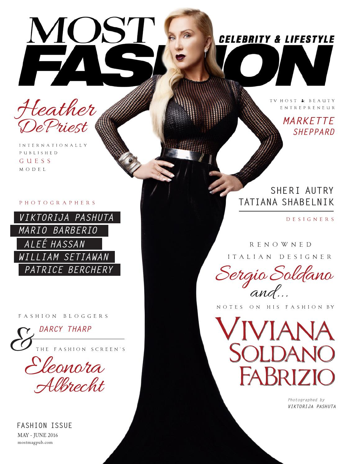 Most Magazine Fashion May June 39 16 Issue By Most