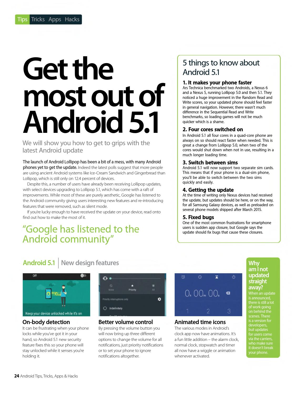 Android Tips Tricks Apps Hacks Volume 9 2015 By Badaghaleez Issuu 3 Way Switch Animation