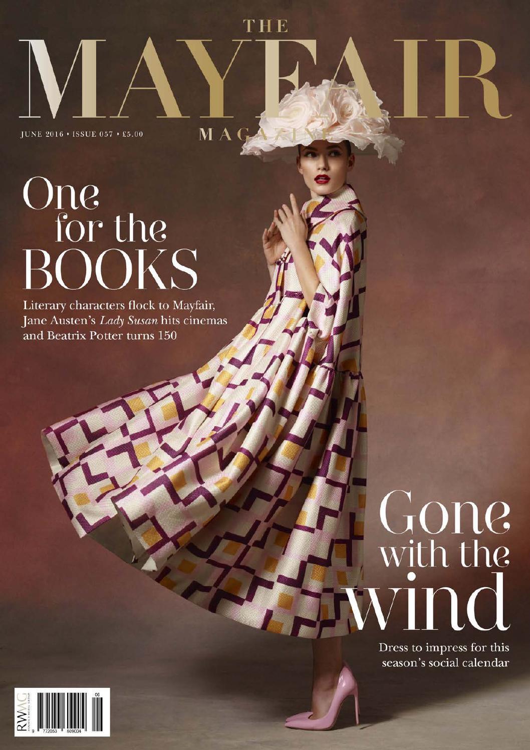 f396753786d The Mayfair Magazine June 2016 by Runwild Media Group - issuu