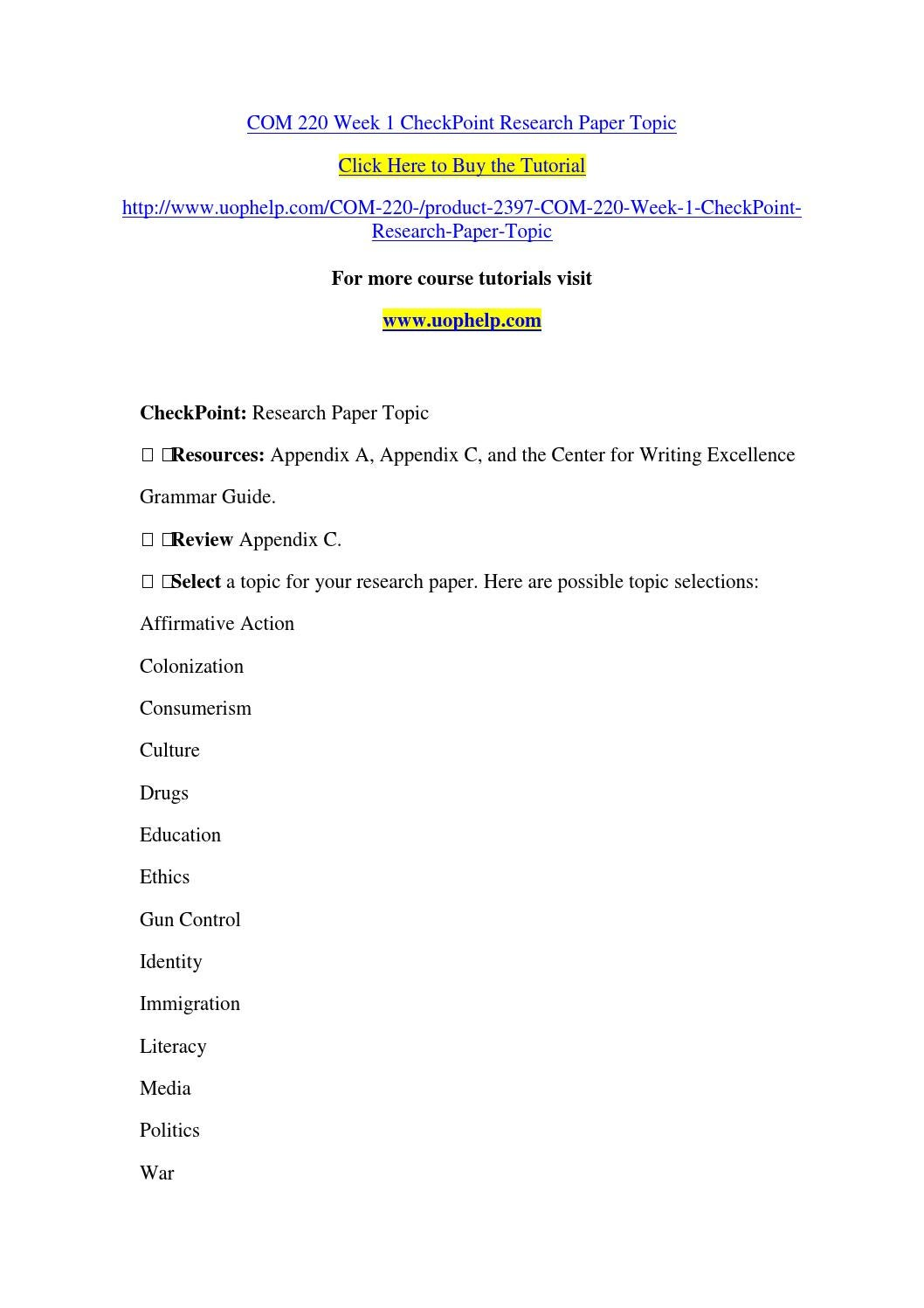 consumerism research paper topics