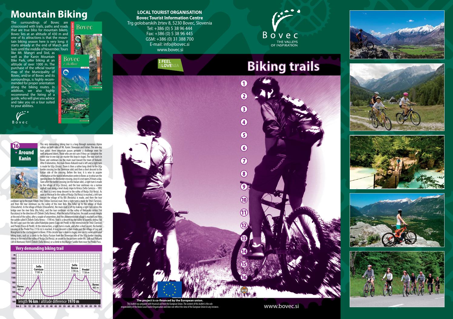 Bovec - Biking Trails by Bovec Tourist Board - issuu