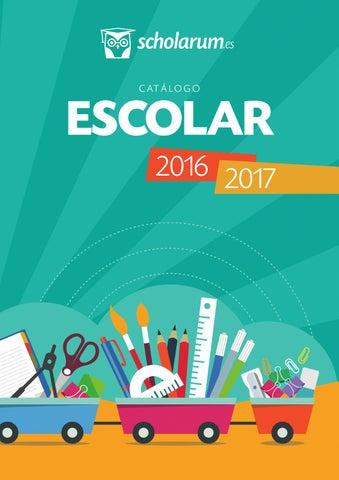 b2f3275fd8b5 Catálogo Escolar 2016 - Scholarum by Grupo Siena - issuu