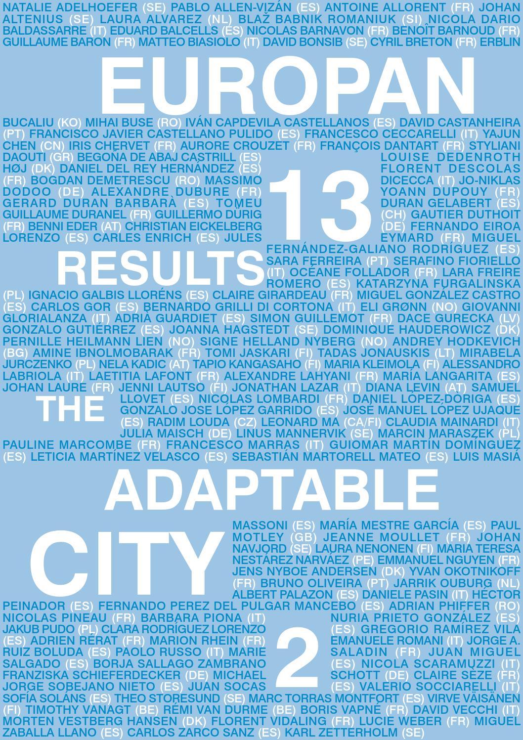 E13 Results Catalogue by Europan Europe - issuu