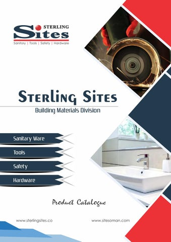 Building material supplier in oman product catalogue sterling by