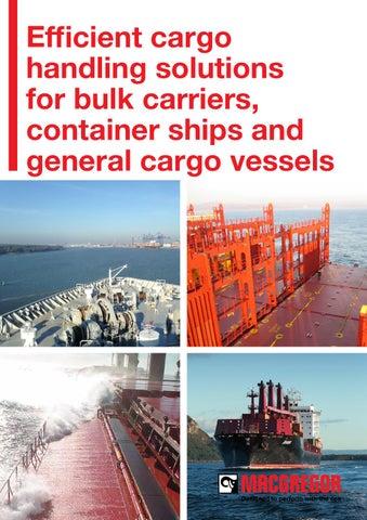 MacGregor Efficient Cargo Handling Solutions CHD By