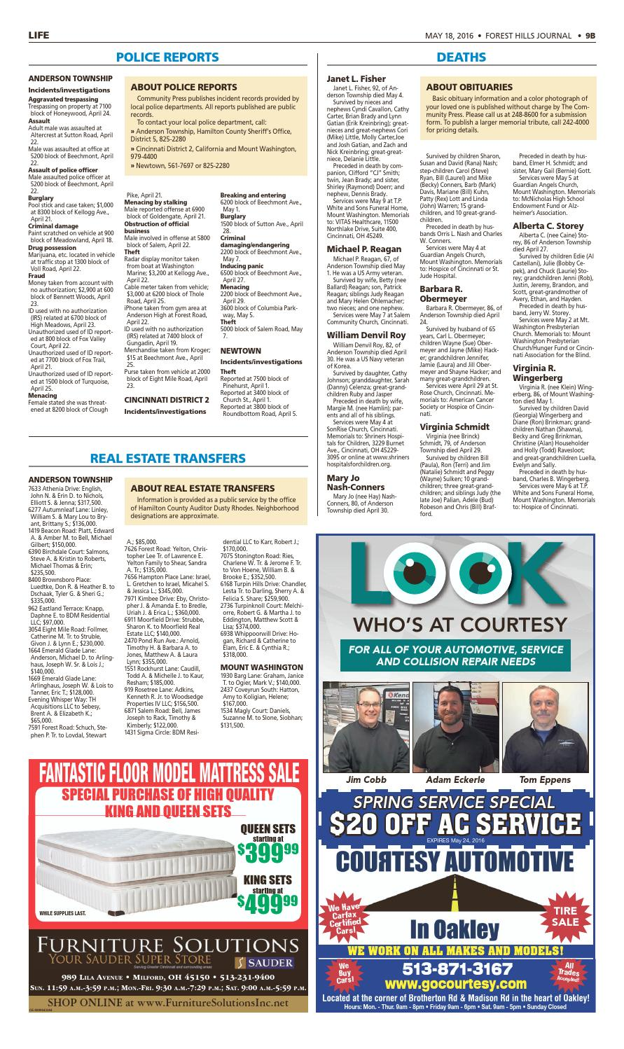 Forest hills journal 051816 by Enquirer Media - issuu