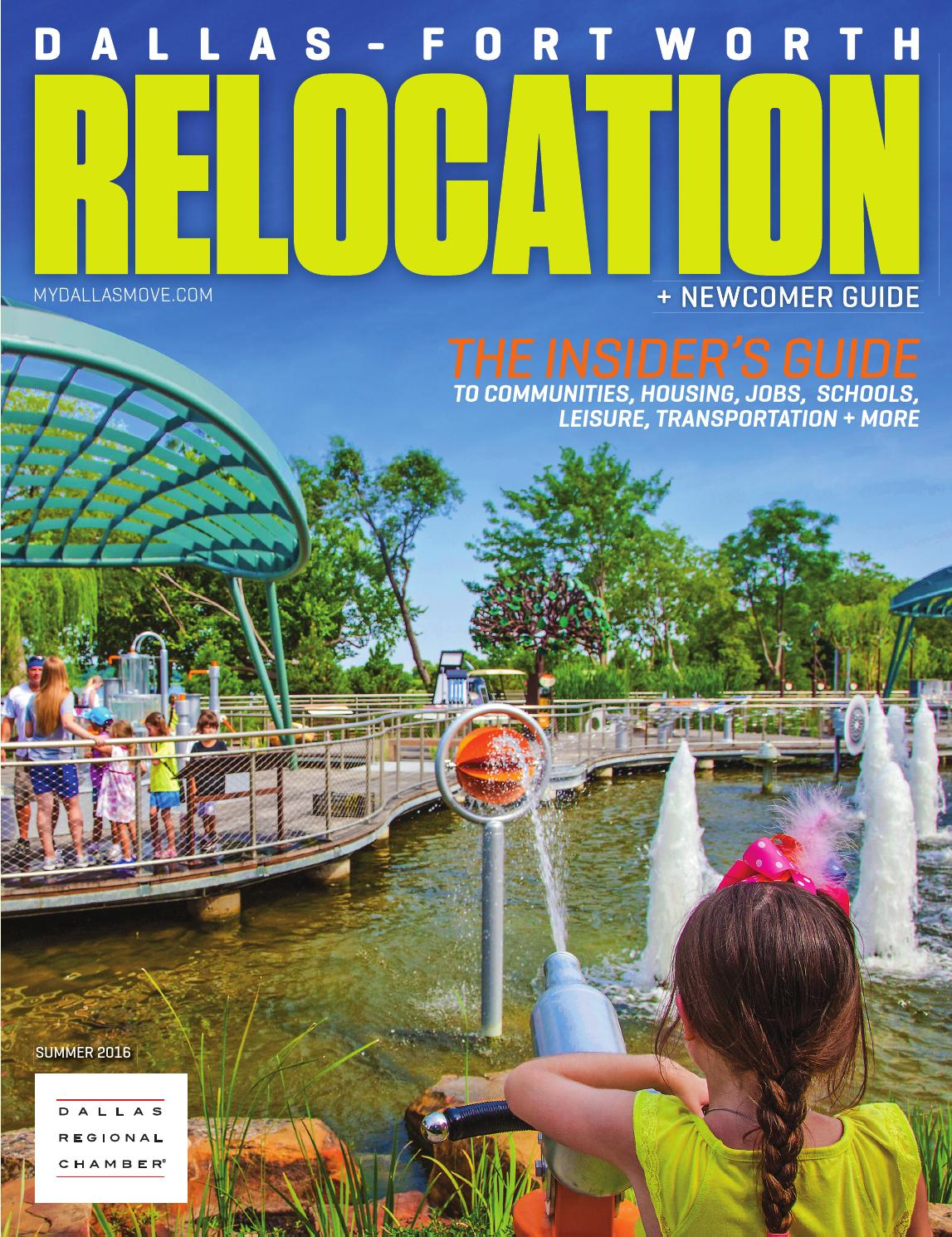 Dallas fort worth relocation newcomer guide summer 2016 by dallas regional chamber publications issuu