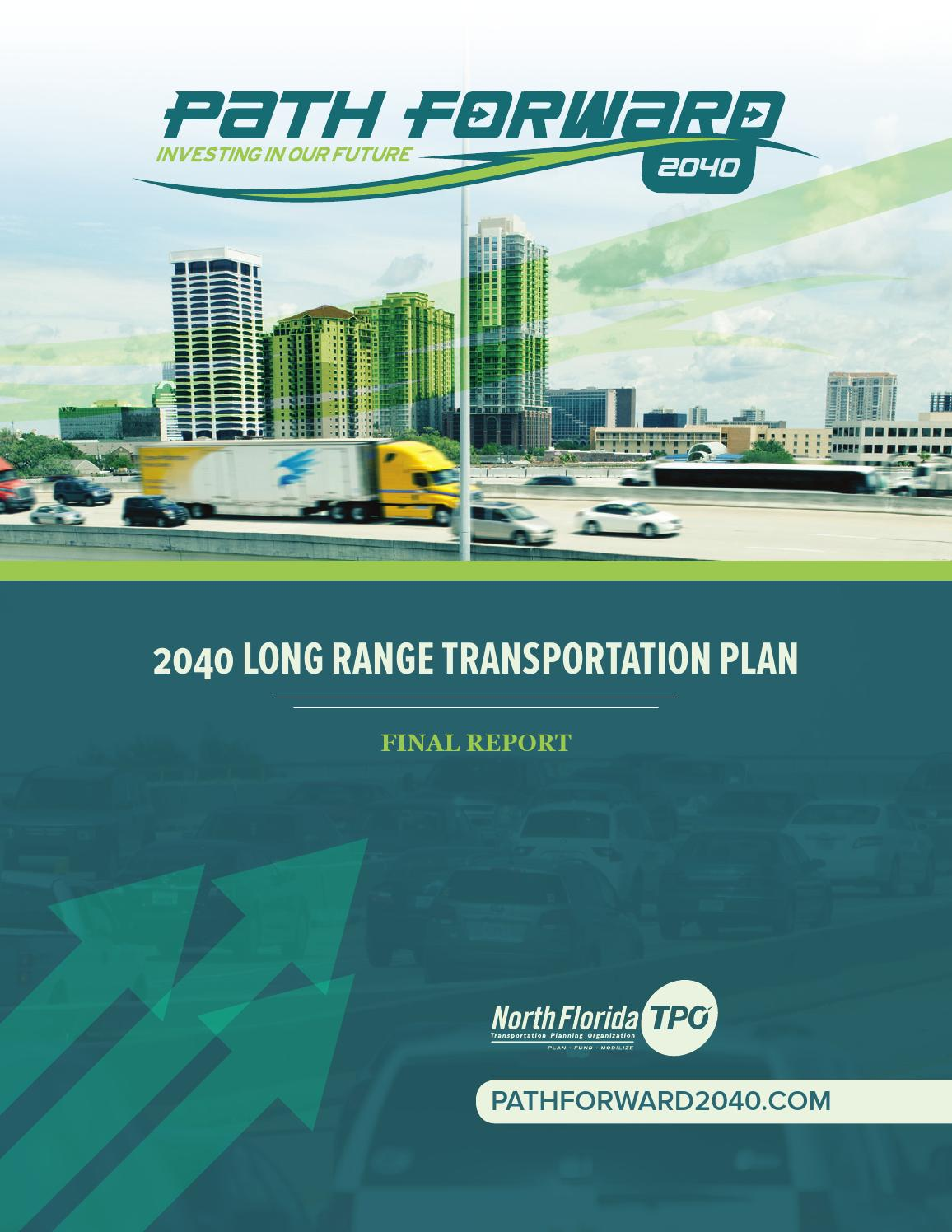 Manatee County School Calendar 2019-2016 2040 Long Range Transportation Plan Final Report by North Florida