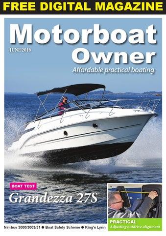 Motorboat owner june 2016 by digital marine media ltd issuu page 1 fandeluxe Images