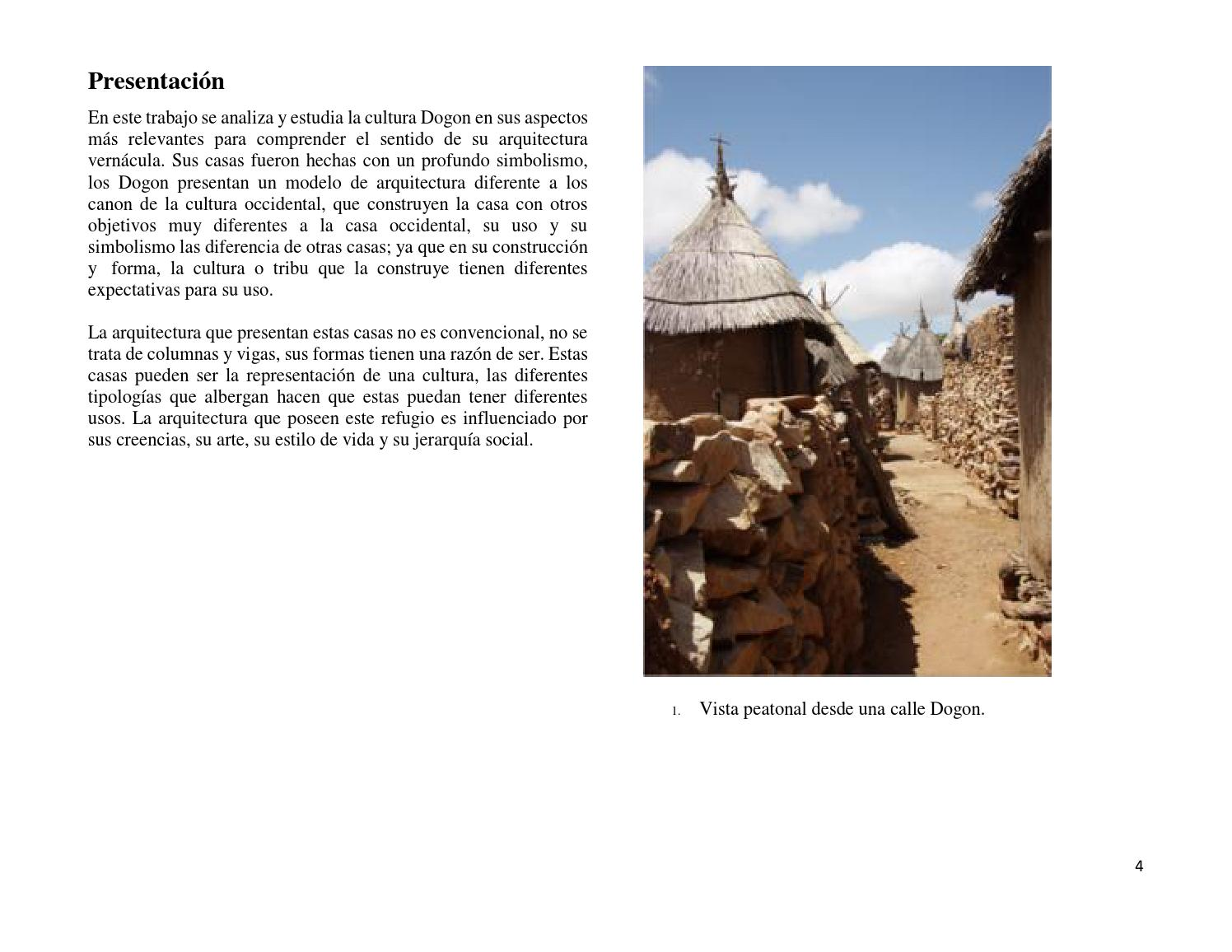 Arquitectura De Los Dogon By Michael Vc Issuu