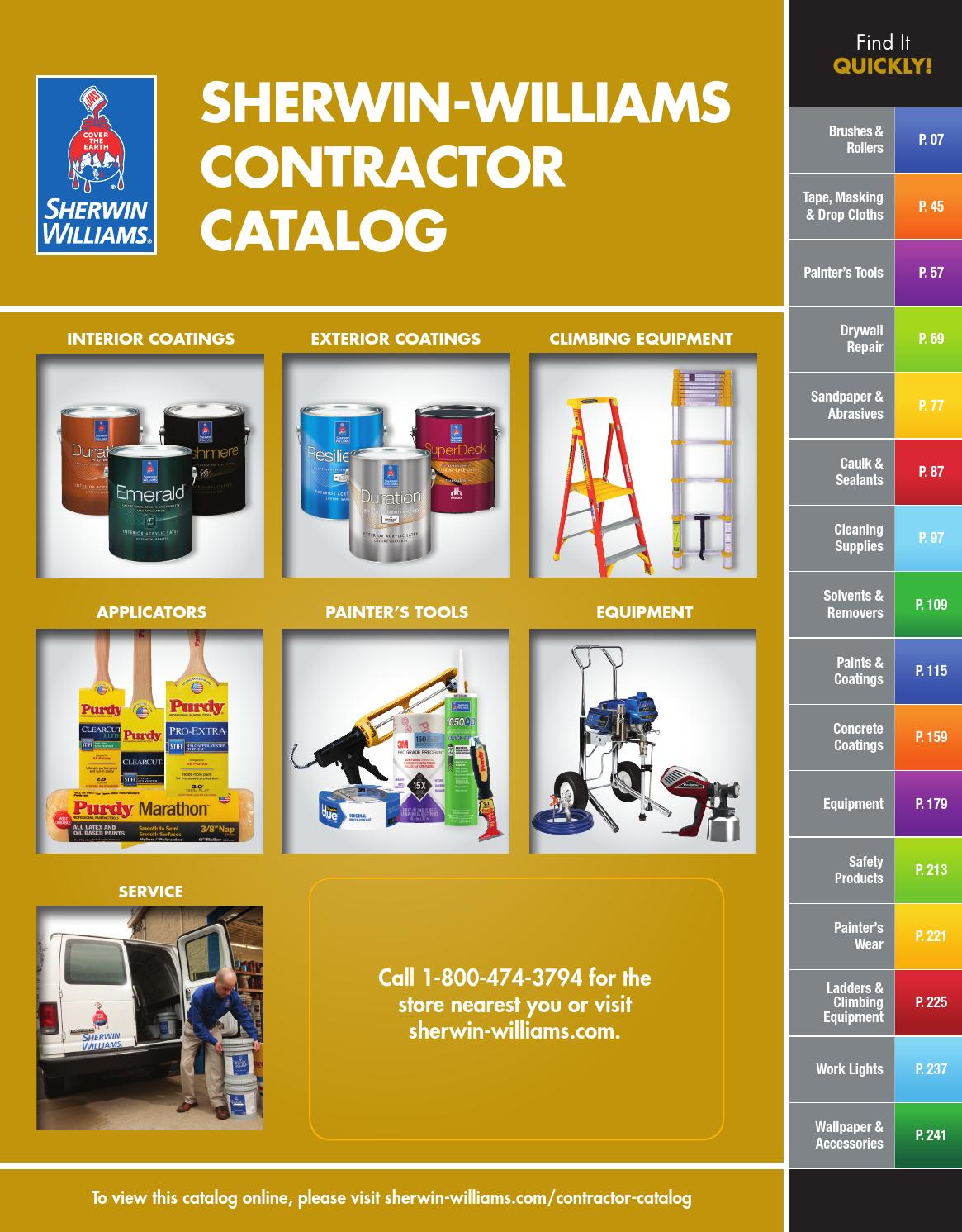 Sherwin-Williams Contractor Catalog by Sherwin-Williams - issuu
