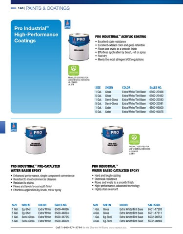 Sherwin Williams Contractor Catalog By Issuu