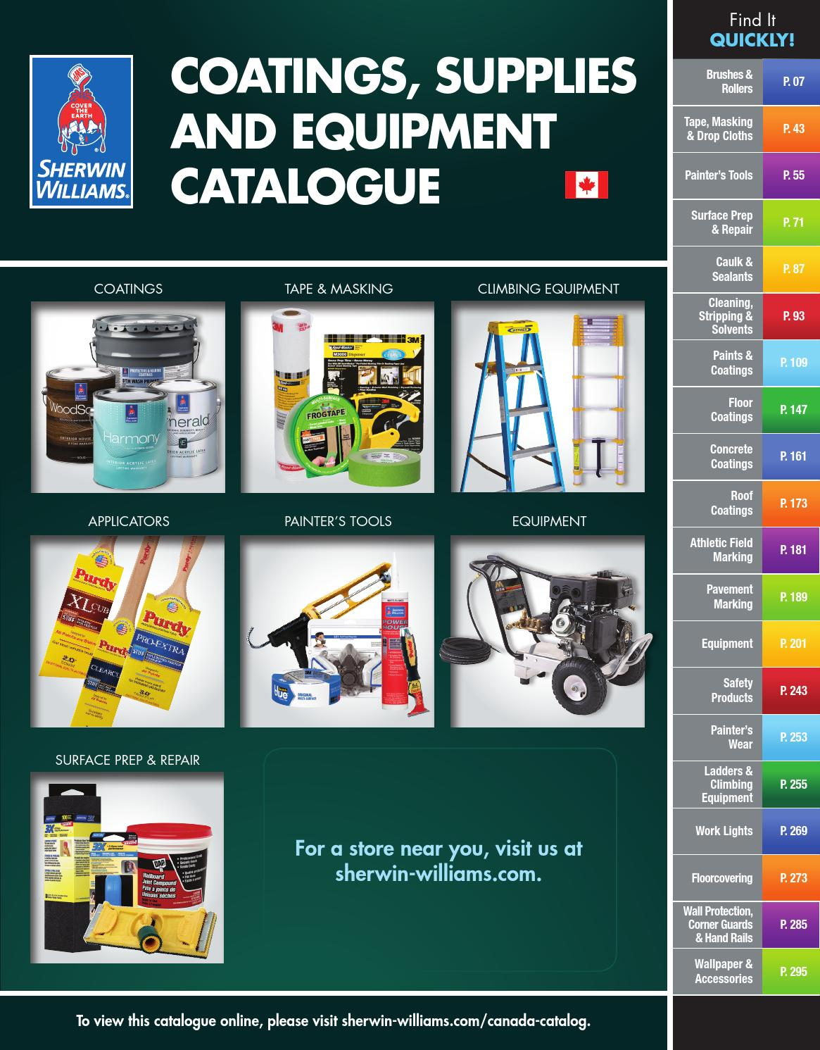 Sherwin williams canada catalogue coatings supplies sherwin williams canada catalogue coatings supplies equipment by sherwin williams issuu nvjuhfo Images