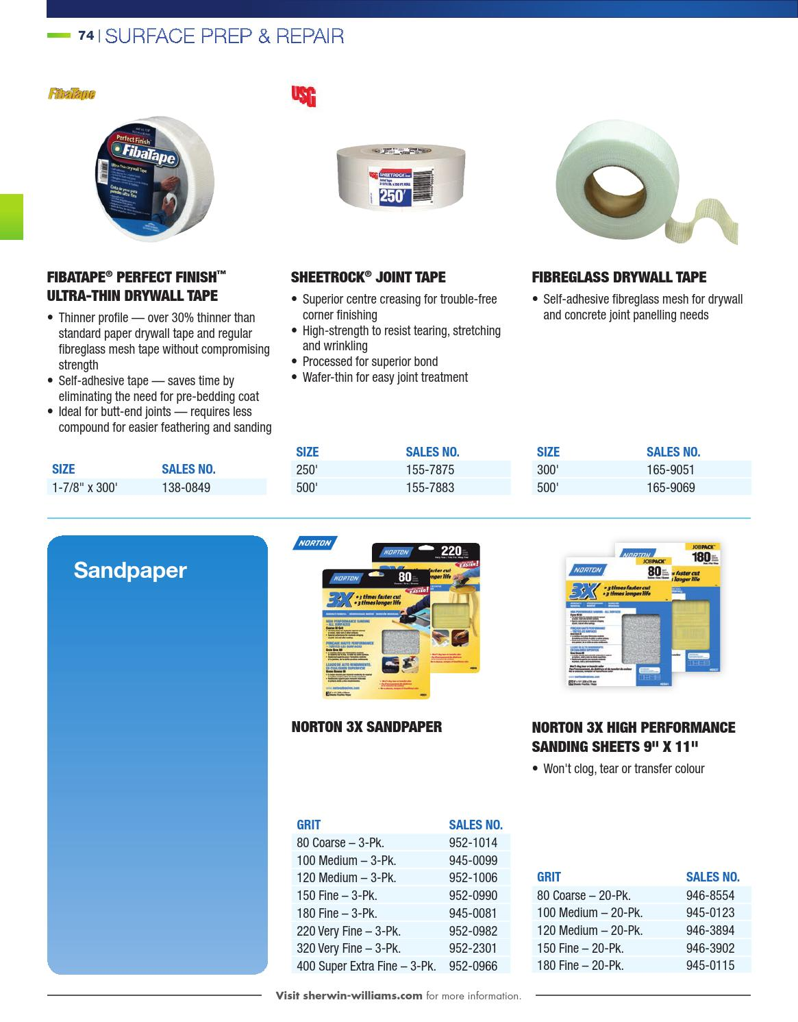 d986124ca48 Sherwin-Williams, Canada Catalogue - Coatings, Supplies & Equipment by  Sherwin-Williams - issuu
