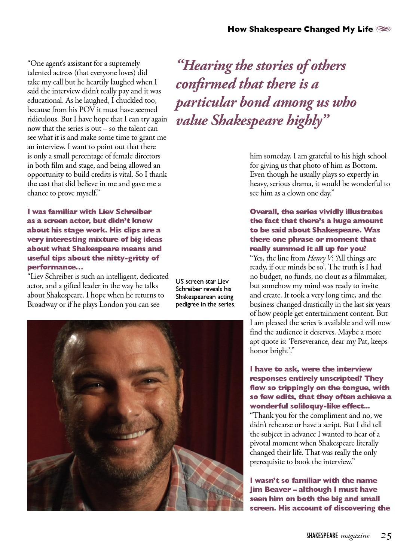 Shakespeare Magazine 10 By Shakespeare Magazine Issuu