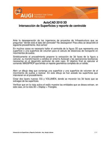 Herramienta 3d face autocad 2010 by Luz Deicy Garces Montano