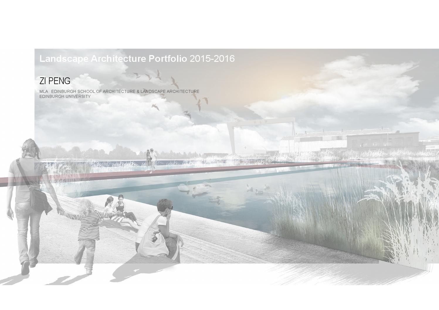 landscape portfolio 2015-2016 zi peng by zi peng