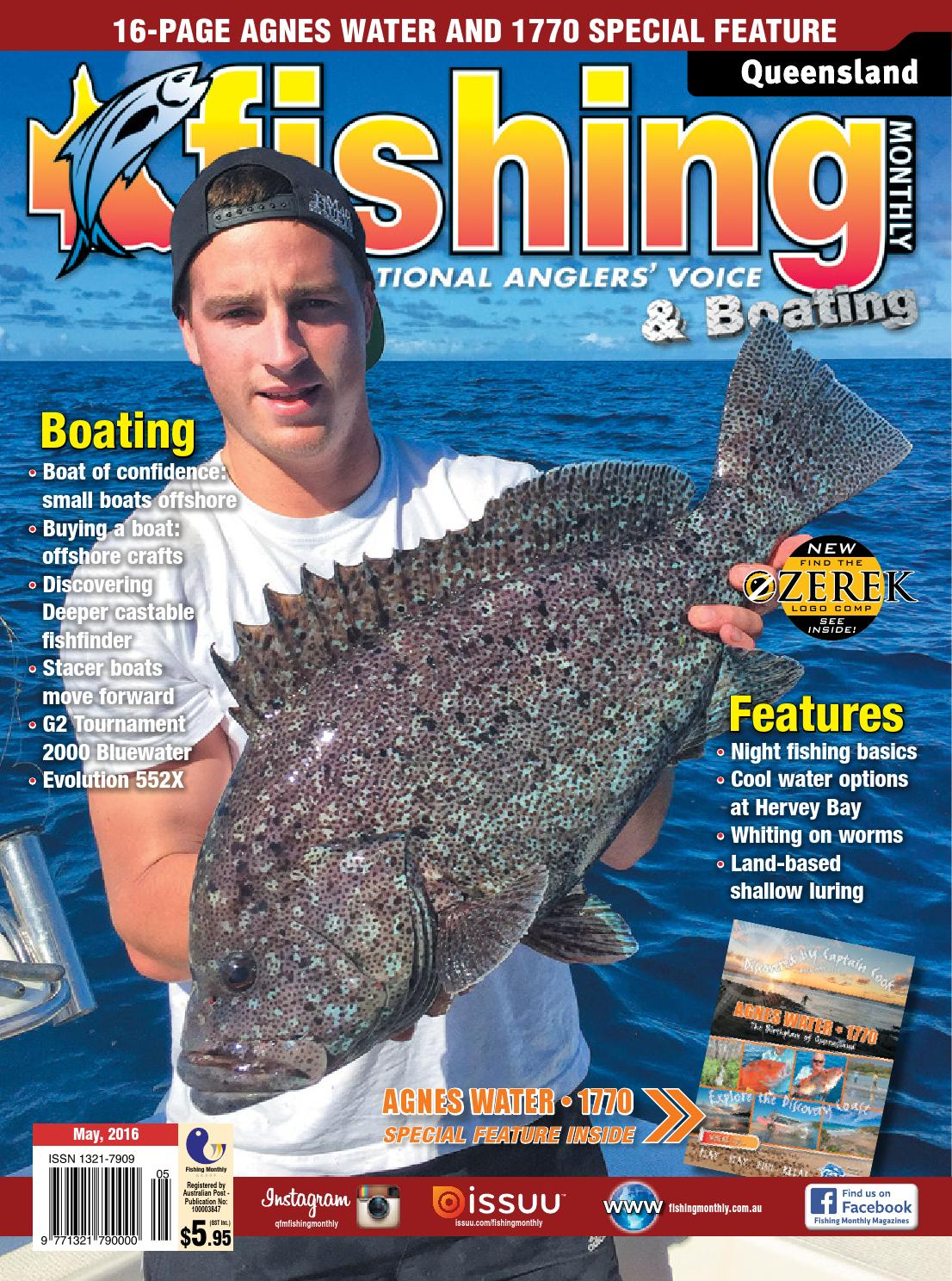Queensland Fishing Monthly May 2016 By Issuu Fancy Feast Classic Wet Fish Tuna 85g 24 Pcs Free Flashdisk