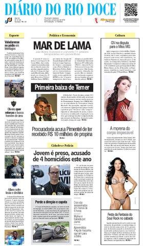 29aec5ce8bf Diário do Rio Doce - Edição de 24 05 2016 by Diário do Rio Doce - issuu