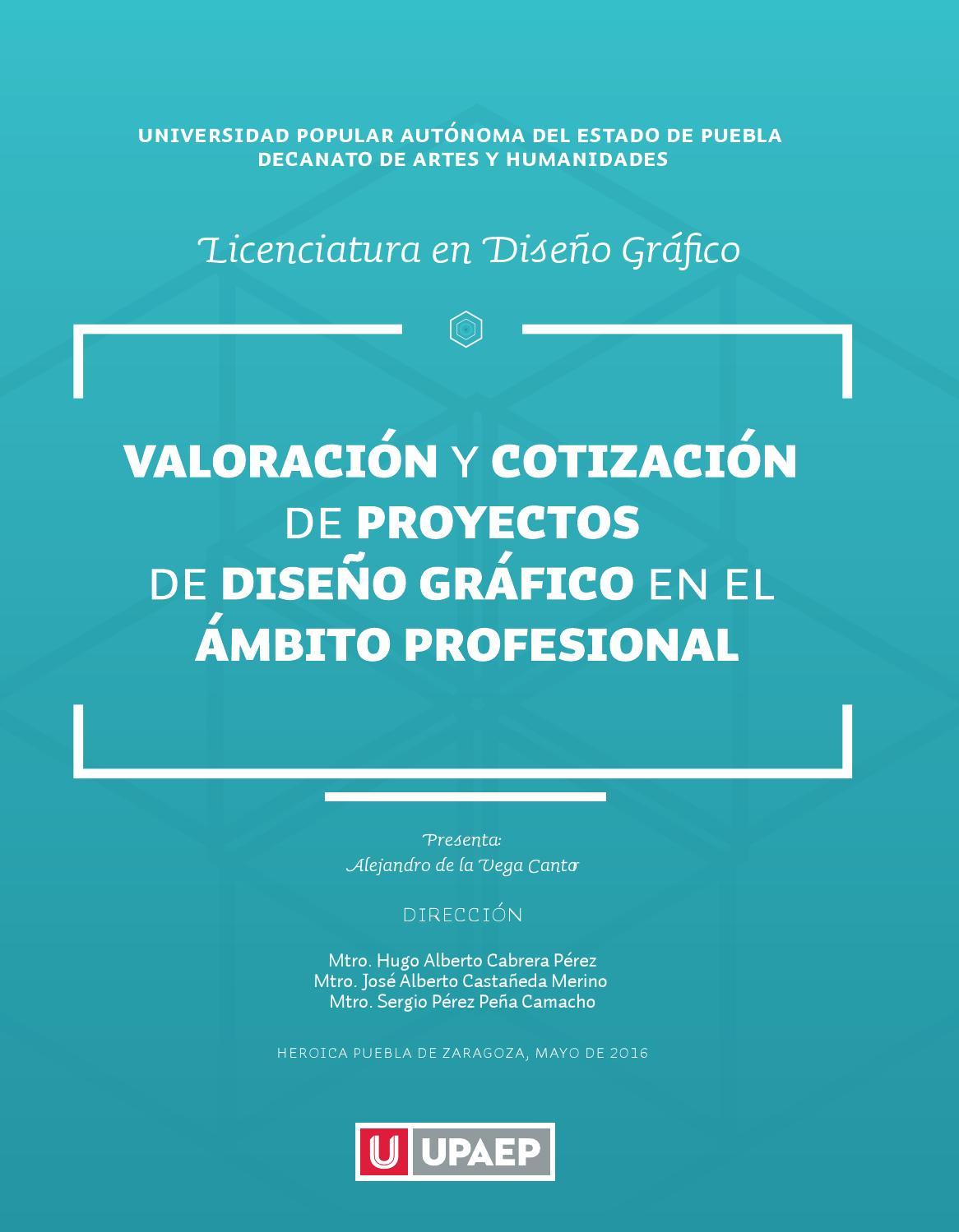 Valoración y Cotización de Proyectos de Diseño Gráfico by Alejandro ...