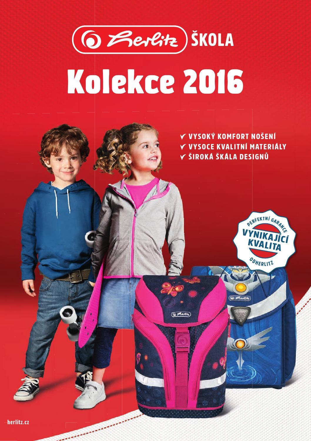 beb0a249412 Herlitz Školní kolekce 2016 by Roman Lettl - issuu