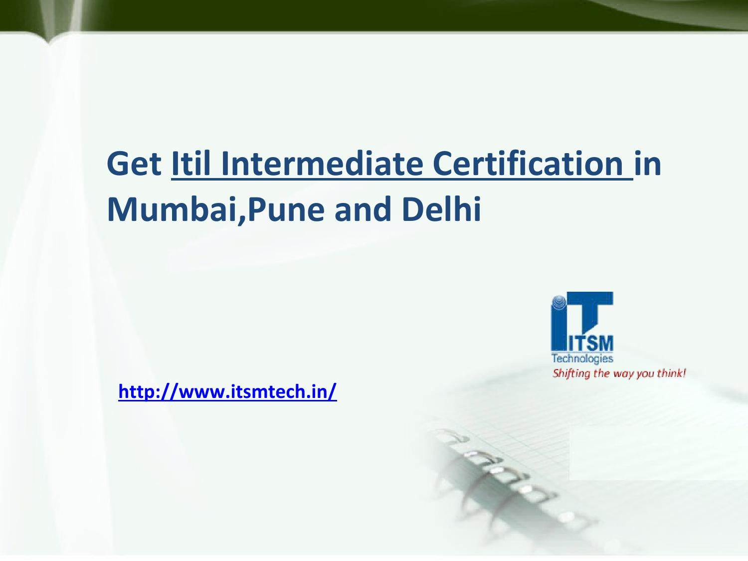Get itil intermediate certification in mumbaipune and delhi by get itil intermediate certification in mumbaipune and delhi by itsmtech issuu 1betcityfo Gallery