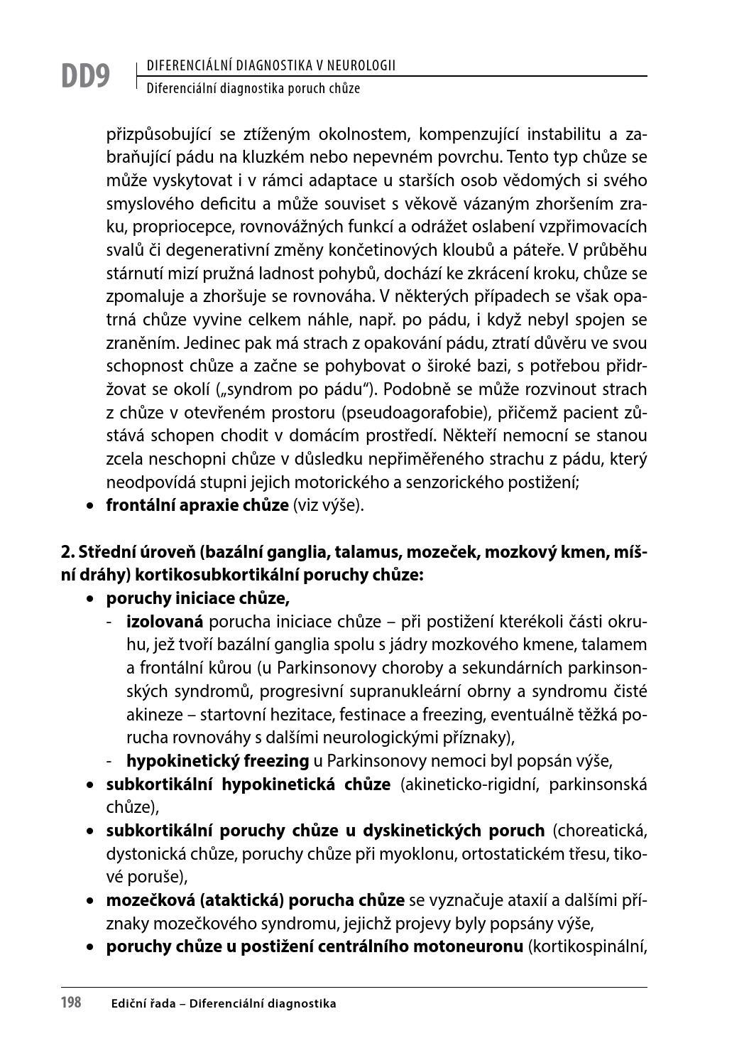 Neuropatie a nervosvalová onemocnění/PGS