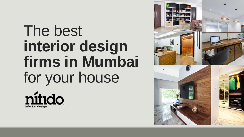Interior Design Firms In Mumbai