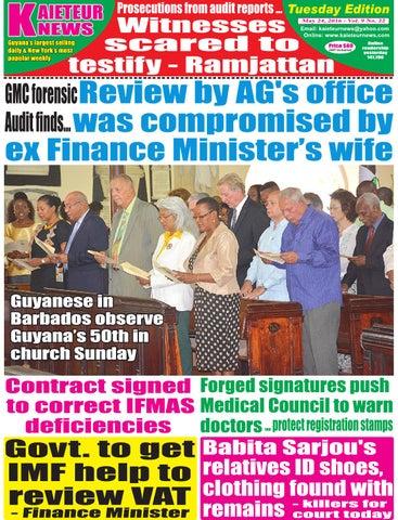 a2a982dbf726 Kaieteur News by GxMedia - issuu
