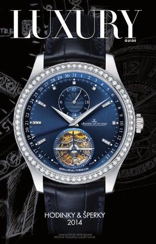 Noviny Hodinky   šperky 2014 by LuxuryGuideCZ - issuu 428fa8d6596