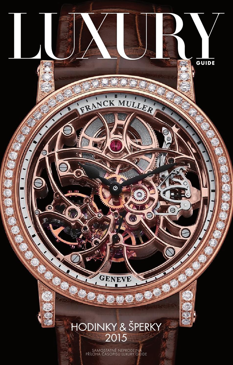 Noviny Hodinky   šperky 2015 by LuxuryGuideCZ - issuu b8316423ad