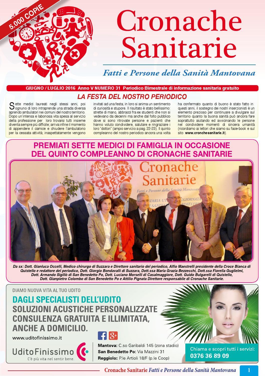 Numero 31 by Cronache Sanitarie - issuu aa401a108146